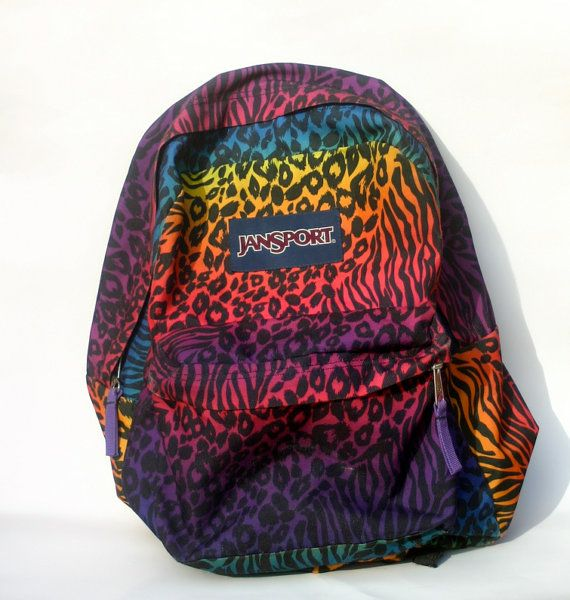 Zebras, Animal print backpacks and Leopards on Pinterest
