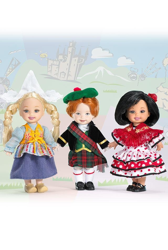 Kelly® Friends of the World™ Dolls I have this trio