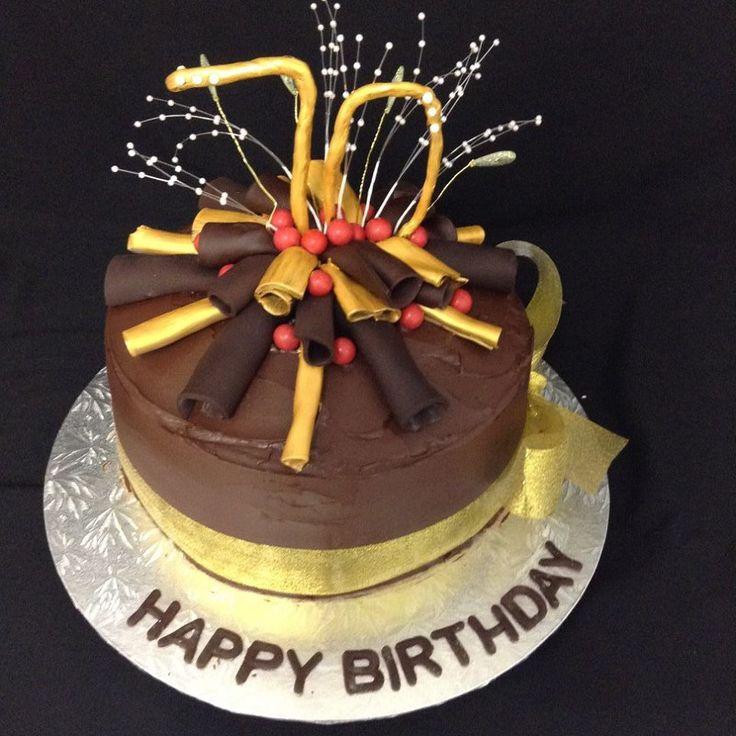 Chocolate Overload Cake decorated by Coast Cakes Ltd