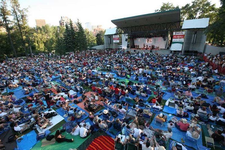 Prince's Island Park in Calgary is home to the Calgary Folk Music Festival once again in 2012! #summeryyc