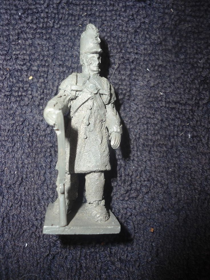Jane Jackson #UC17 54mm Private in Greatcoat 1812 Soldier Metal Military Figure #Jackson