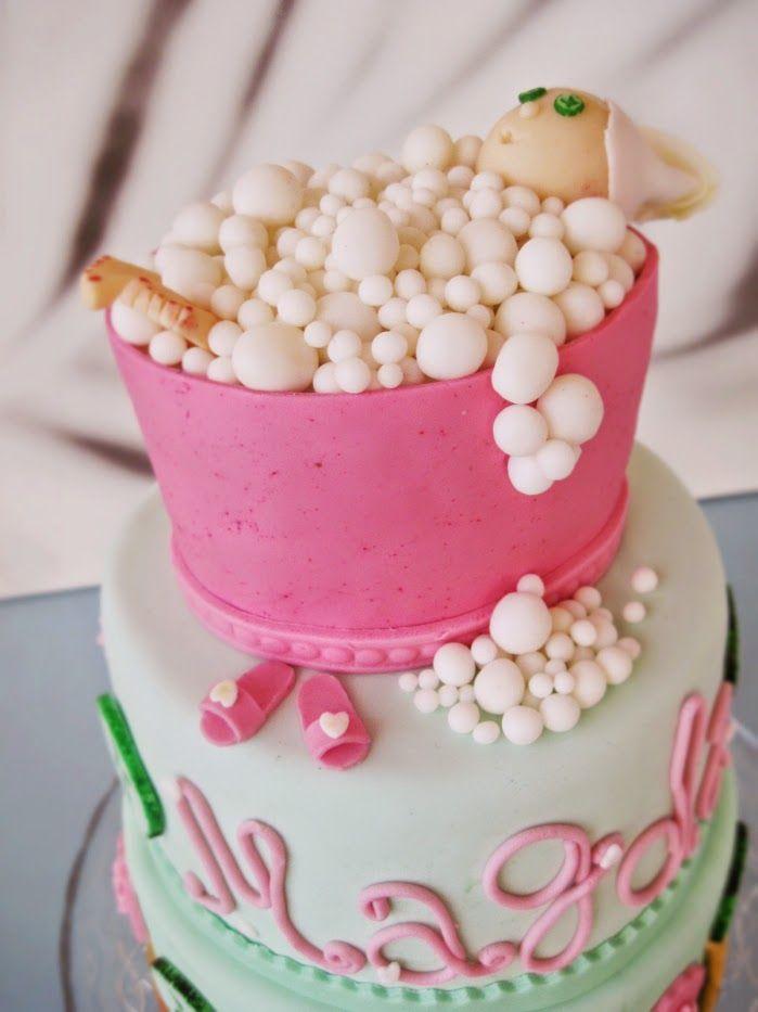 Tort urodzinowy: Relaks w Wannie