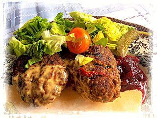 Köttfärsbiffar med spännande smaker