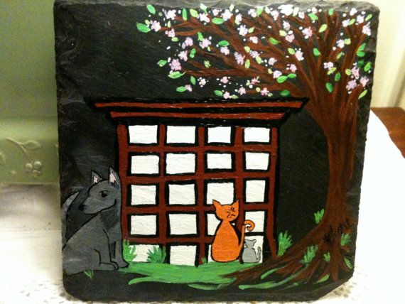 Fruits Basket anime hand painted plaque by OurBurrowDesign on Etsy, $26.00