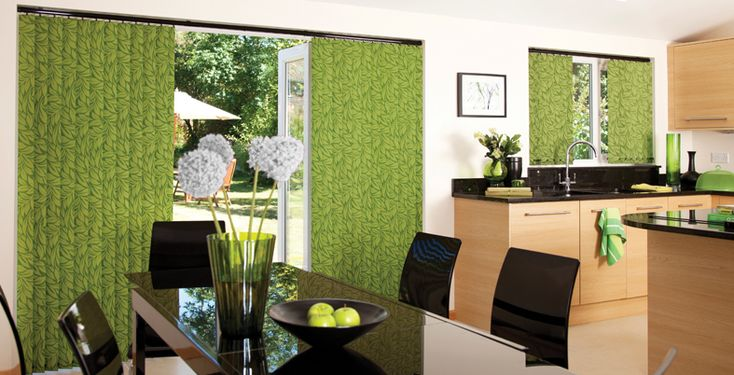 How to Update your Vertical Blind! Don't be fooled into thinking you have to buy an ENTIRE new blind or do a difficult DIY curtain project to get the look you want in your home. Old blind slats can be replaced with gorgeous fabrics at low cost to rejuvenate your home, match your décor and provide beautiful, practical solutions. Vertical blinds allow angling of the light and can have qualities such as - washable, wipe-clean, fire retardant & solar reflective coating.