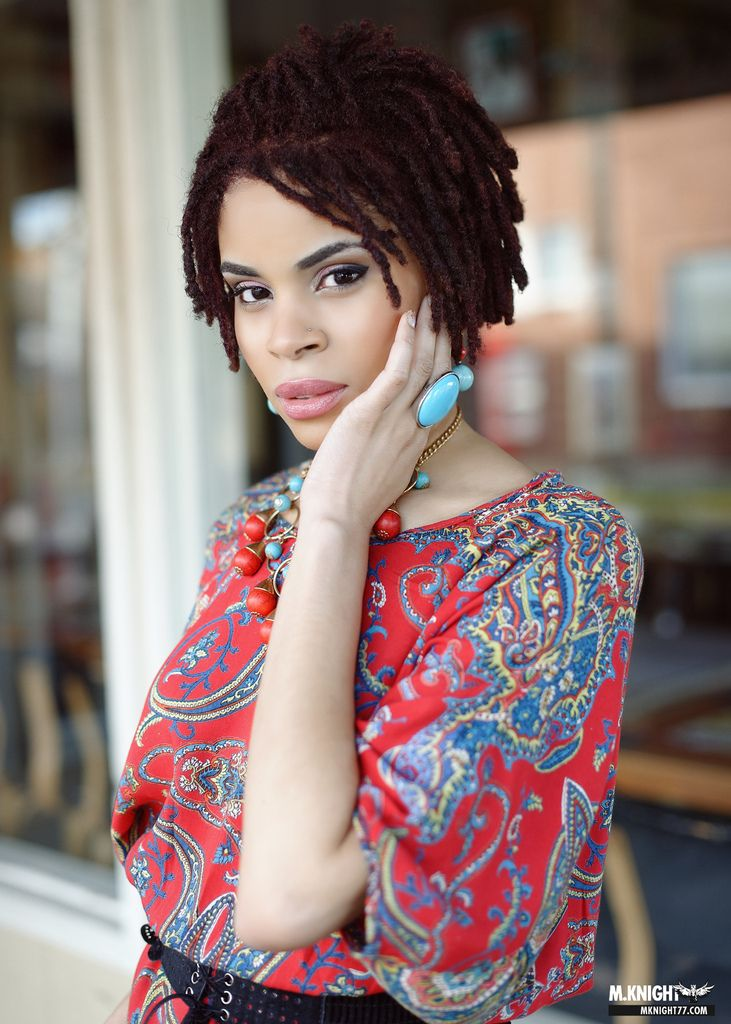 128 best images about Short loc styles on Pinterest