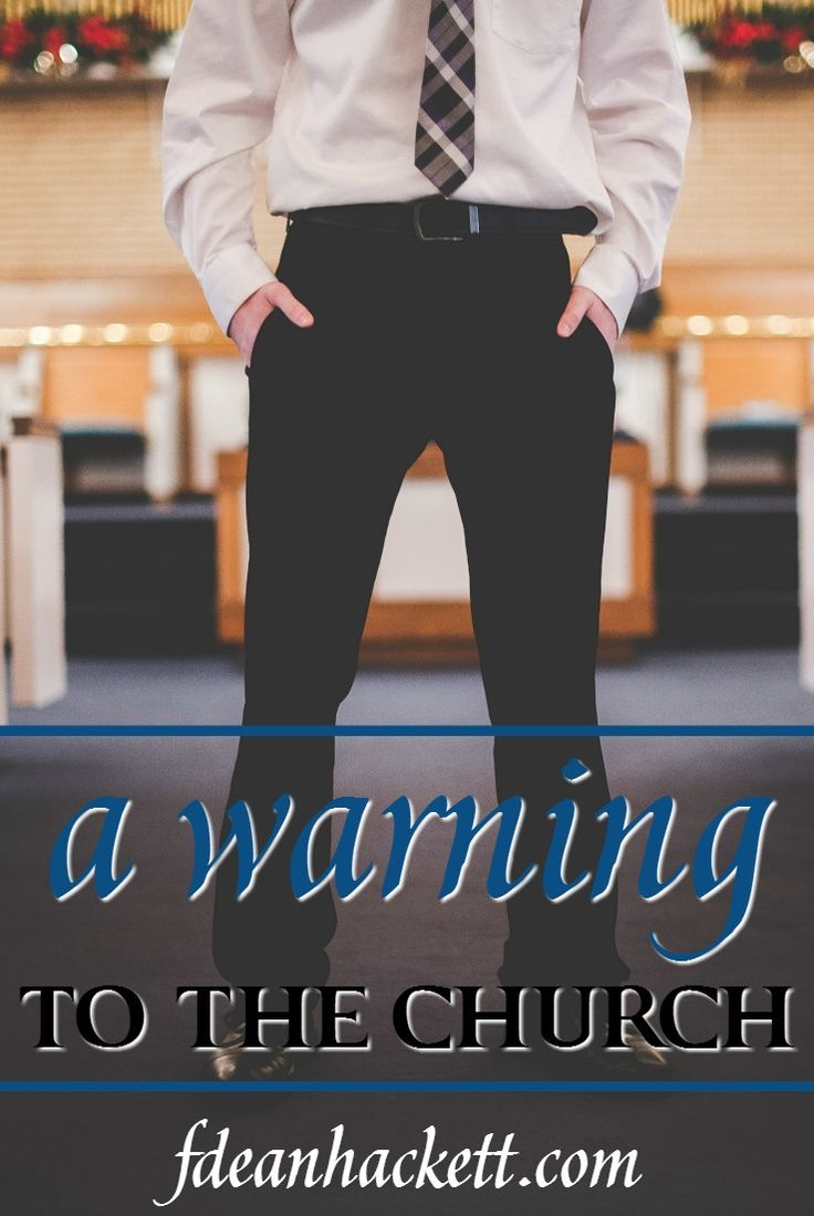 A warning to the church