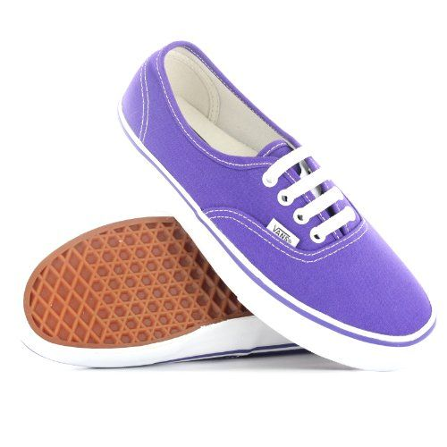 Cool Vans Authentic Purple Womens Trainers