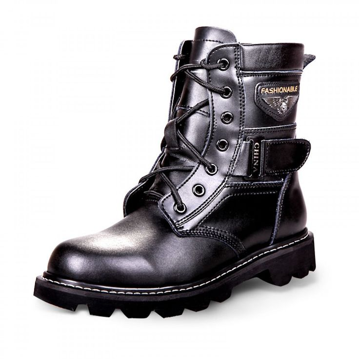 Stylish height elevator cowboy boot for men increase 8cm / 3.15inches winter thicken motorcycle boots
