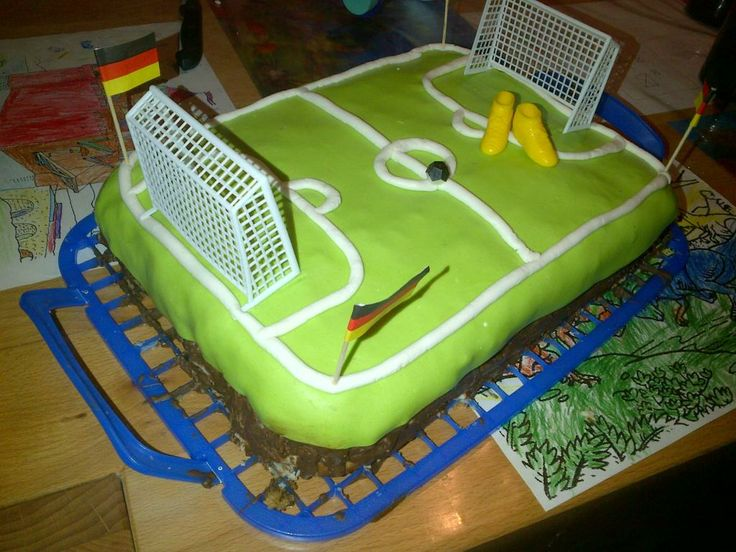Fußballtorte - Birthdaycake for Soccerparty