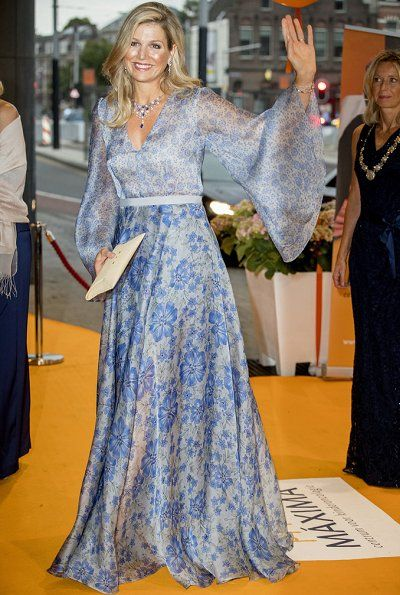 Dutch Queen Maxima Attended a Charity Dinner in Amsterdam