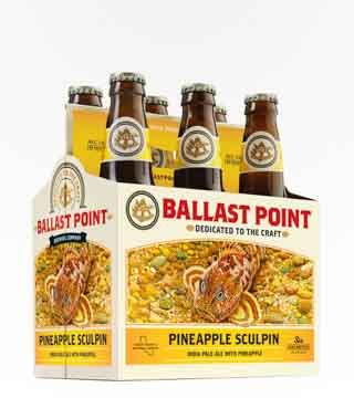 Ballast Point Pineapple Sculpin - $17.79 San Diego. India Pale Ale with all natural Pineapple flavor. 7% ABV.