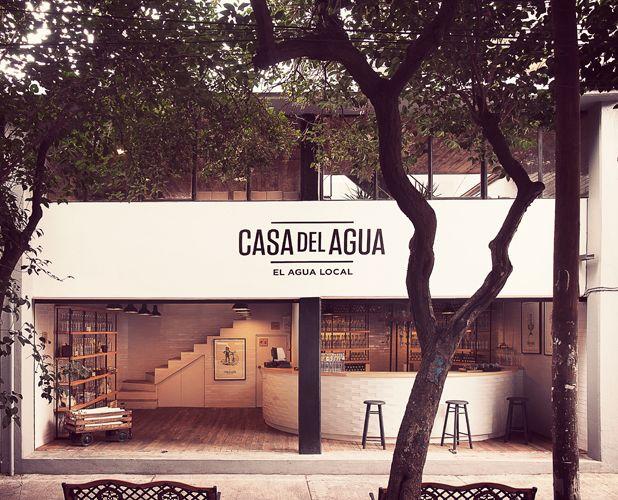 casa del agua . mexico city