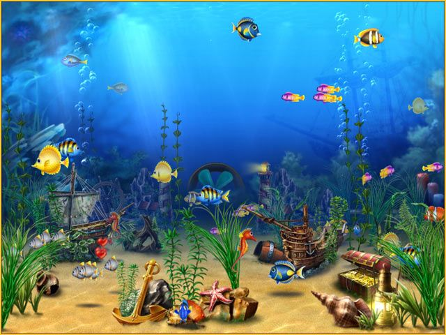 7 best 3 d downloads images on pinterest free screensavers animais and animaux - Fish tank screensaver pc free ...