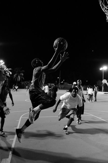8. Basketball at Roberto Clemente Park, Miami | Flickr - Photo Sharing!