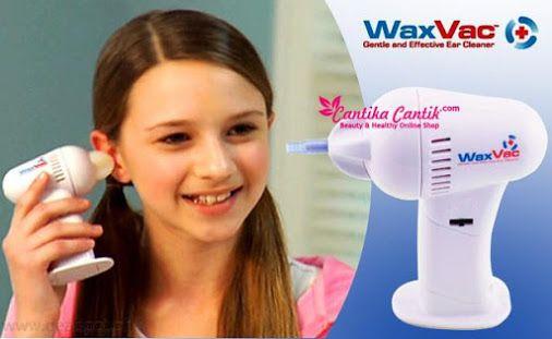 Jual WaxVac Ear Cleaner Alat Pembersih Telinga. Seperti vacuum, waxvac digunakan untuk menyedot keluar kotoran yg ada di dalam kuping. **Selengkapnya: http://c-cantik.me/3c **Order Cepat: http://m.me/cantikacantik.id  KONTAK KAMI DI - PIN BBM 2A8FB6B4 - SMS / WA 081220616123 Untuk Fast Response