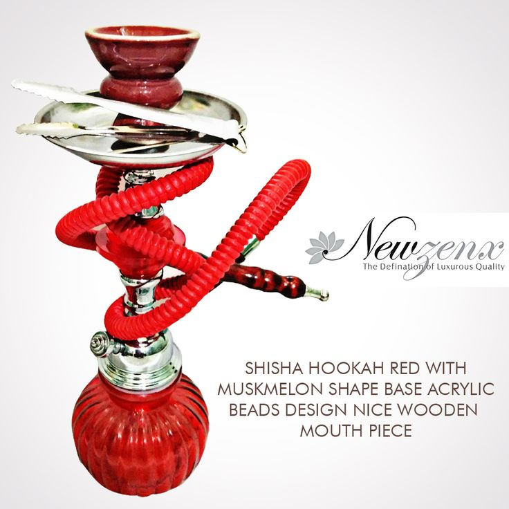 "Shisha Hookah Red Multiple Bowl 21"" -New Zenx Newzenx Offers first time buy products then provide special products & RS 100 Cashback... www.newzenx.com #newzenx #hookahred #buyeroffers #specialoffers"