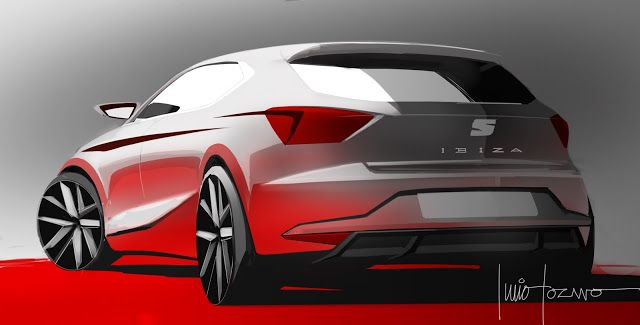 Four Wheels: NEW SEAT IBIZA