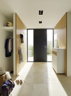 Our hallways blend seamlessly into the existing architecture, creating a naturally beautiful entrance.   TEAM 7