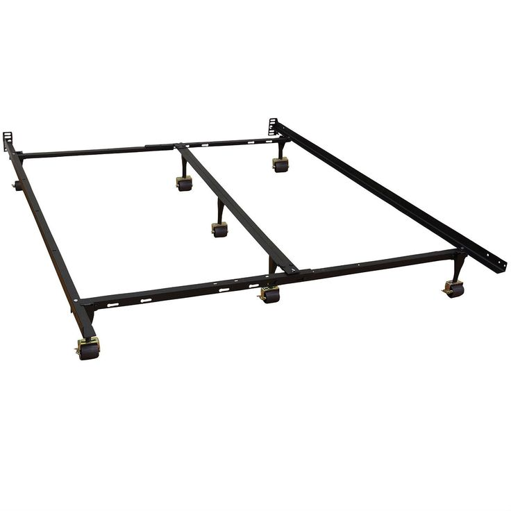 Best California King Size Metal Bed Frame With 7 Legs Locking 400 x 300