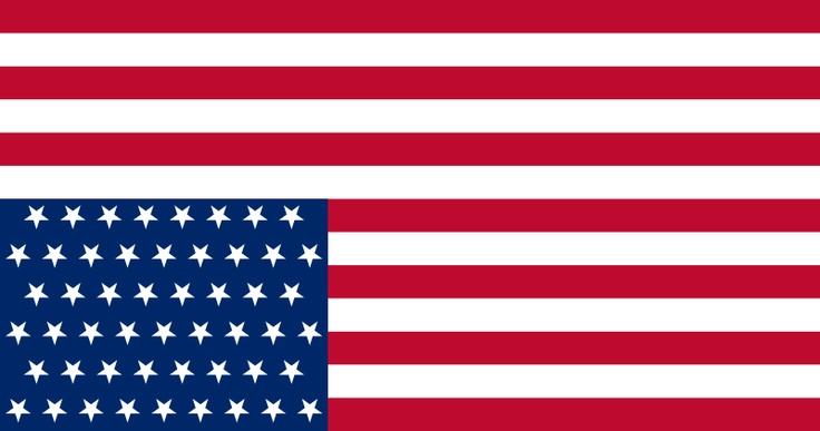 circle american flag