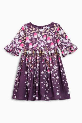 Buy Berry Border Print Prom Dress (3mths-6yrs) online today at Next: Netherlands