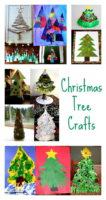 16 Christmas tree crafts to try