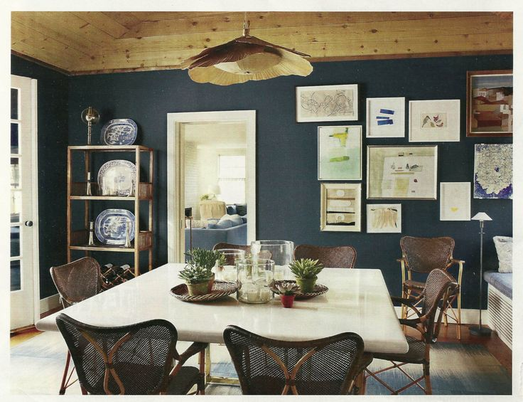 Benjamin Moore Polo Blue Paint Colors Home Dining