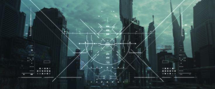 Batman Beyond HUD GFX » [Shawn Lee]
