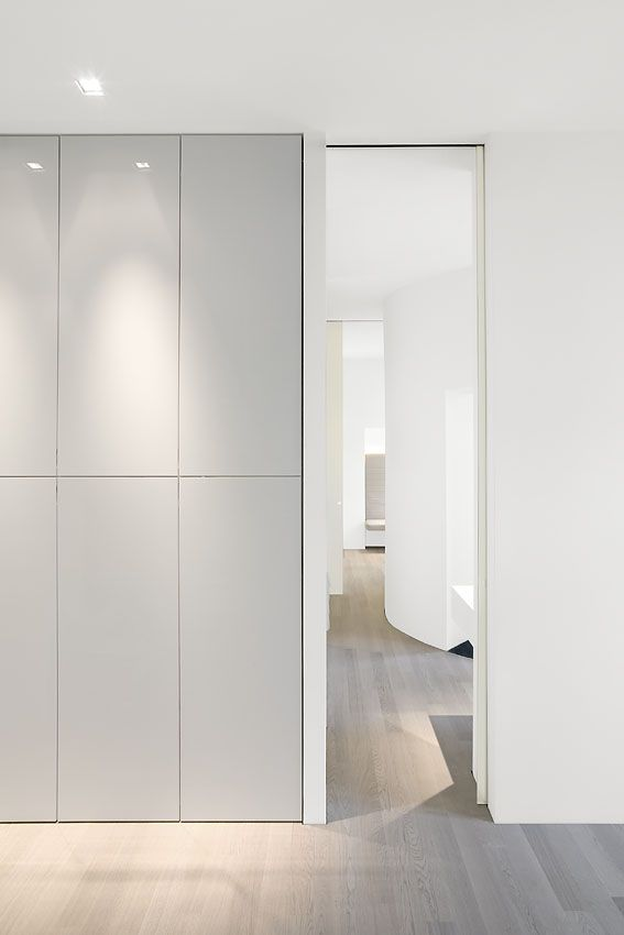 Apartment Berlin via (Architecture: Leyk & Wollenderg)