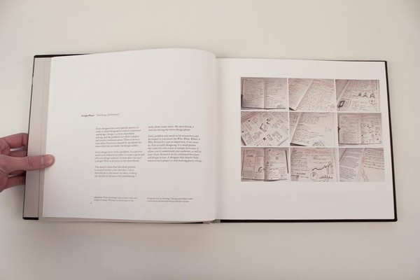Book Portfolio by Adrian Newman, via Behance