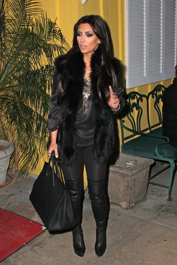 Kim Kardashian Photo - Kim Kardashian with Brittny Gastineau in LA