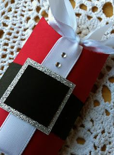 Created By ~DonnaK: 45 Sleeps Until Christmas ~ Fun Size Santa Surprise