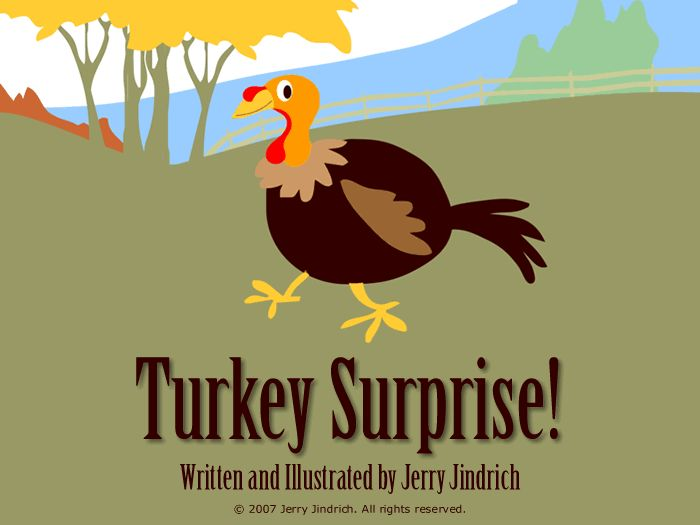 Turkey Surprise is a sweet, interactive Thanksgiving story for young children.