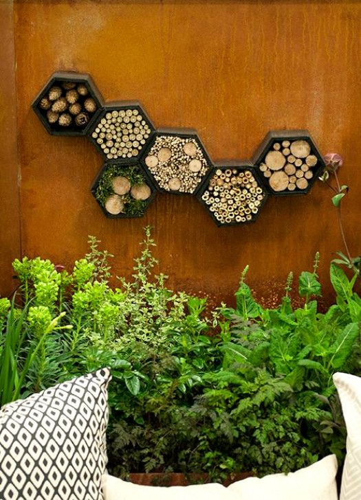 Closing Your Garden Our Advice To Make The Right Choice Small Garden Design Diy Garden Projects Insect Hotel