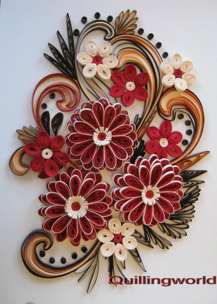 17 best images about paper quilling on pinterest for Paper design wallpaper