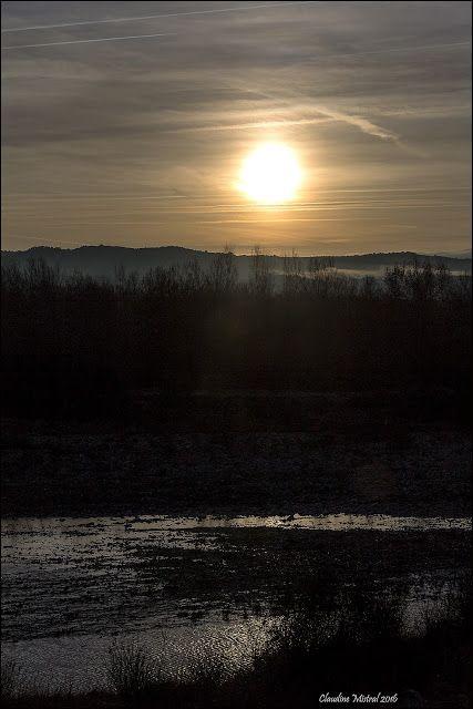L'oeil et les mots: L'hiver s'installe le long de la Durance et dans l...