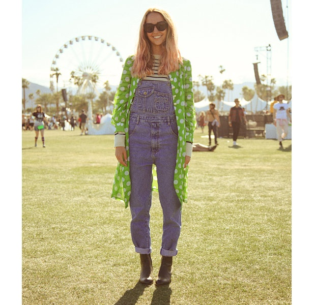 These looks at Coachella are very forced. Were is the fashion in this festival?: Festivals Style, Festival Style, Photo