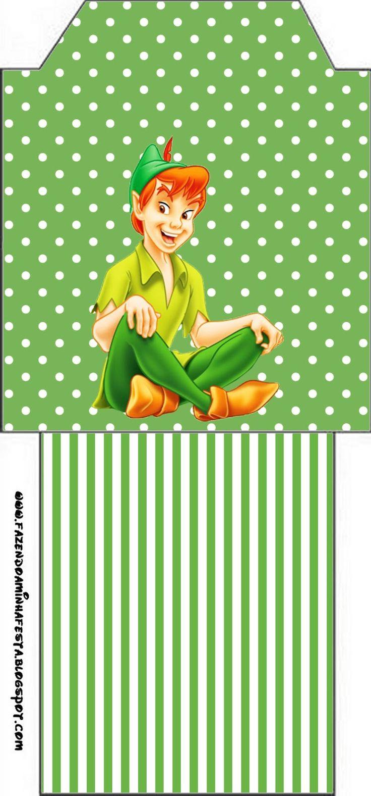 Ideas y material gratis para fiestas y celebraciones Oh My Fiesta!: Peter Pan: tarjetería para imprimir gratis.