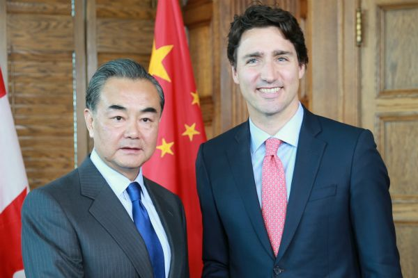 For asking question about human rights   For asking question about human rights  Wang Yi told reporter in Ottawa it was irresponsible to pose a query on nations rights record  Chinas visiting foreign minister publicly berated a Canadian journalist on Wednesday for asking a question about his countrys human rights record.  Chinese Foreign Minister Wang Yi said it was irresponsible of a journalist from the web outlet IPolitics to ask about human rights and the detention of a Canadian Kevin…