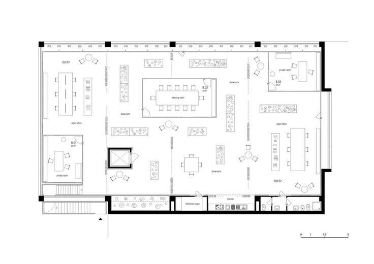 In un piccolo centro abitato alla periferia di Pistoia, per un'azienda di articoli per la cucina, il primo piano di un edificio industriale è stato convertito in un luogo espositivo e di lavoro. Il programma prevedeva la realizzazione di uno showroom a...