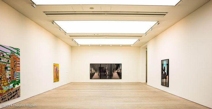 Leonce Raphael Agbodjélou's Untitled triptych (Demoiselles de Porto-Novo series)   by Theunis Viljoen LRPS