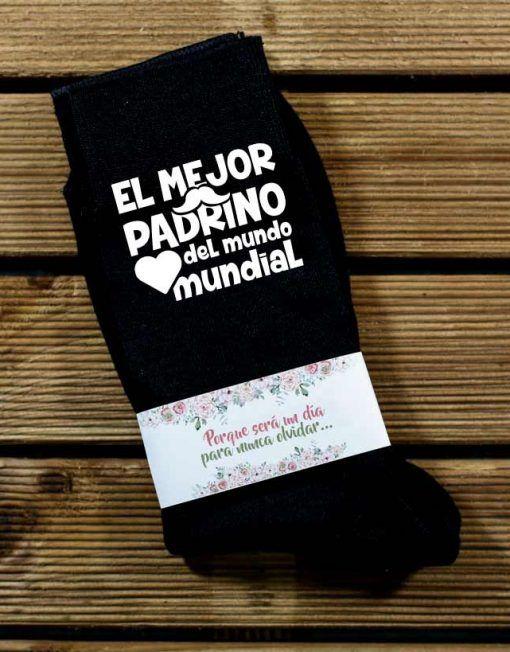 Calcetines personalizados para los padrinos de bodas