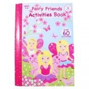 Blossom Fairy Activity Book $7.95 https://www.stagezone.com.au/pink-poppy-products.html?limit=18&p=3 #children #kids #fun #jewellery #accessories #dressup #colourful #costume #party #butterfly #flower