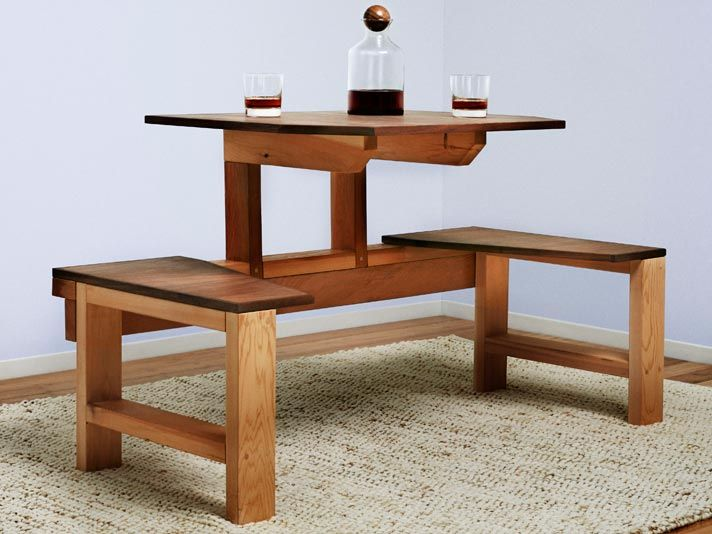 We Found This Single Unit Lunch Table In A 1939 Popular Mechanics Book. With