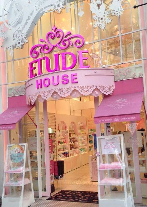 Etude House in Myeong-dong, South Korea