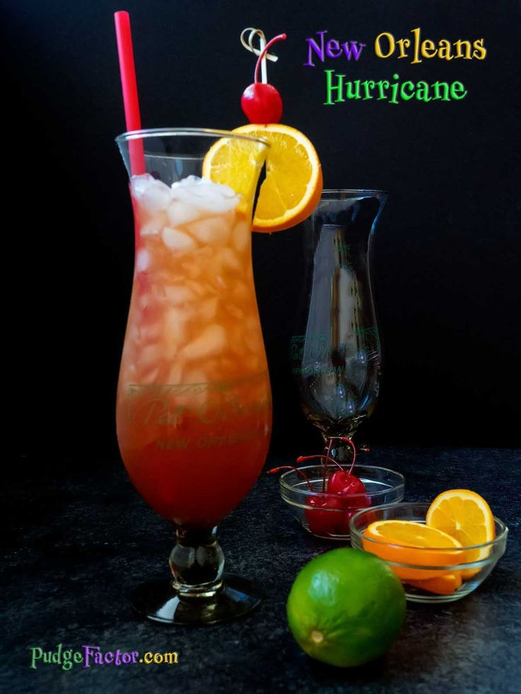 No Mardi Gras season would be complete without a delicious New Orleans Hurricane. Laissez les bons temps rouler with this iconic New Orleans cocktail.  via @c2king