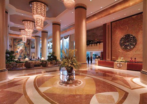 Ooh la la. Shangri-La Hotel Singapore
