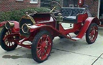 1909 Hudson Roadster - (Hudson Motor Car Co. Detroit, Michigan 1909-1954)