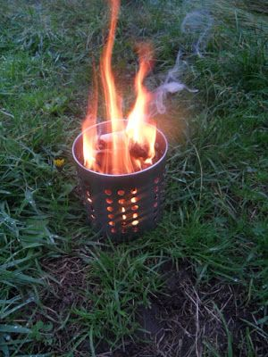 Dreaming Of Sunsets Over Ochre Dunes: The IKEA Hobo Stove